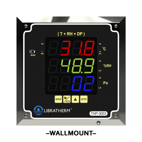 wall-mount-clean-room-monitor-and-real-time-data-logger-thp-3003-front