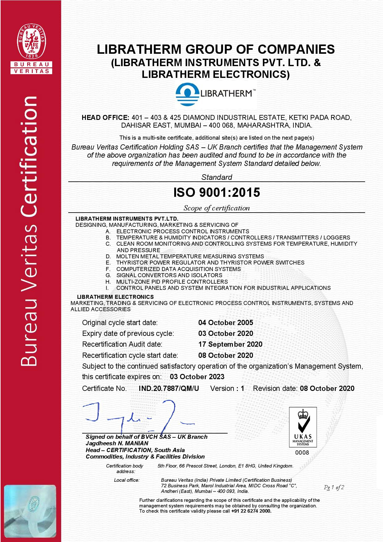 ISO-Certificate-Libratherm